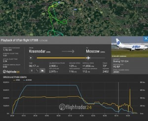 Unstable Approach B735 Moscow